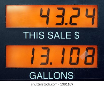 Gas is expensive.