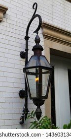 Gas Lamp in New Orleans