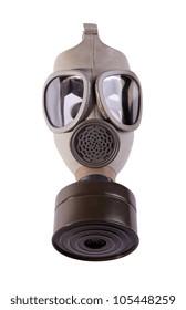 Gas mask isolated on white