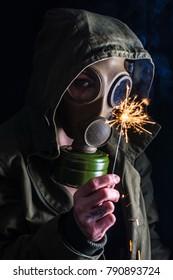 Gas Mask Pyro 3