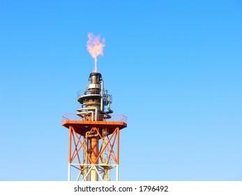 gas oil flare