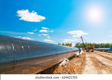 Gas pipeline construction