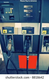 Gas Pump at filling stations