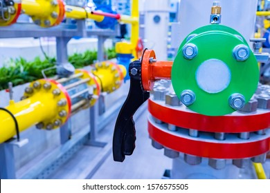 Gas purification equipment. Room with lots of gas pipes. Sale of hydrocarbons. Gasification of the enterprise. Sale of gas processing equipment. Compressor station. Pipeline equipment. Energy.