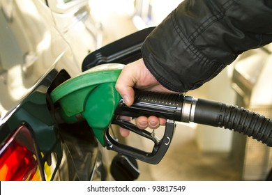 Gas Station pump - petrol
