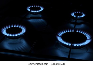 gas stove and gas