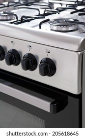 gas stove close up
