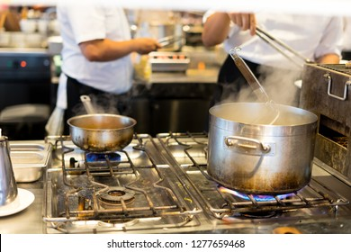 Gas Stove Cooking Kitchen