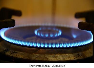 Gas stove-Double head