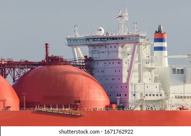 GAS TANKER - Command post for controlling the ship