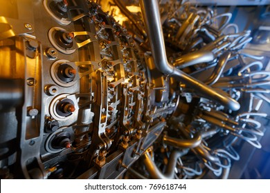 Gas turbine engine of feed gas compressor located inside pressurized enclosure, The gas turbine engine used in offshore oil and gas central processing platform. Technological ecological installation