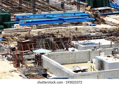Gas turbine Power plant under-construction.