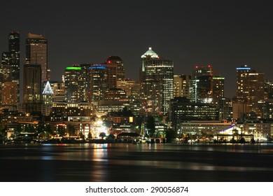 Gas Works Park; Seattle Skyline