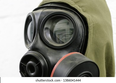 Gasmask and Nuclear, Biological and Chemical (NBC) suit