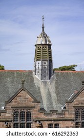 The gasolier vent on the roof of Gladstone's Library
