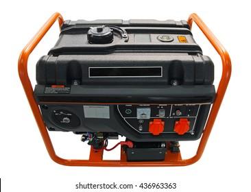Gasoline electric generator