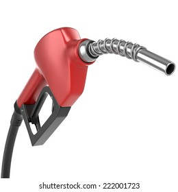 Gasoline Pump isolated on white