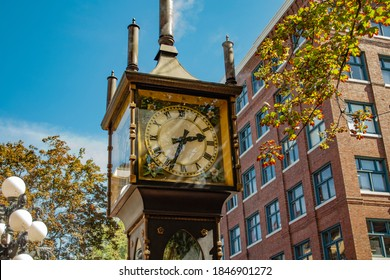 Gastown Steam Clock Downtown Vancouver, Canada