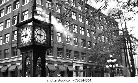 Gastown Steam Clock at Vancouver, British Columbia, Canada