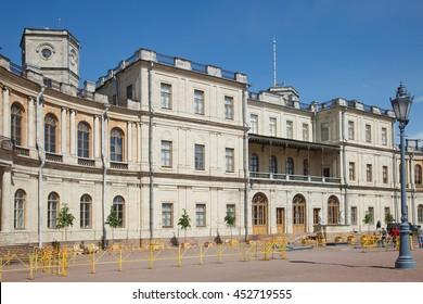 Gatchina. Leningrad region. Palace and park ensemble in Gatchina.
