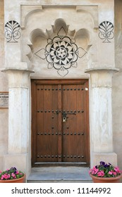Gate of Arabian old house