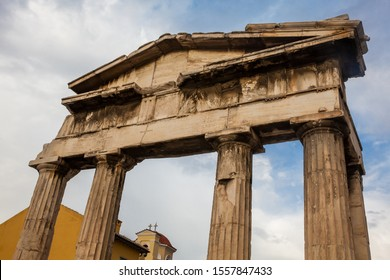 Gate of Athena Archegetis located at the Athens Roman Agora