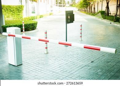 Gate barrier