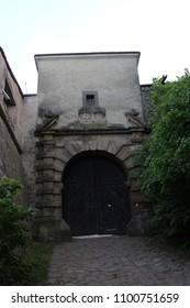 Gate to Buchlov castle, Czech republic