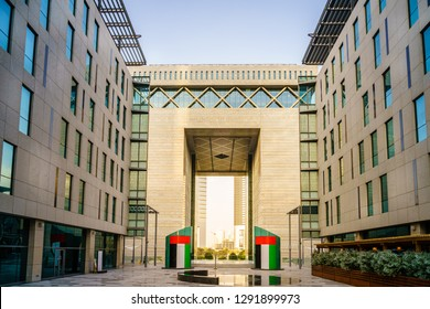 The Gate Building in Dubai International Financial Center