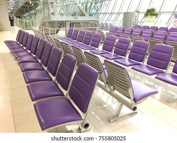 Gate for calling after checkin in the international airport is a location for wait flight of airplane to transport to other country that is modern interior design for passenger