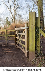 gate in the countryside