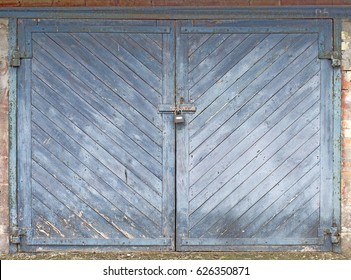 Gate, door, board, entrance, garage