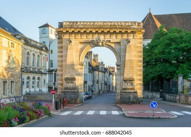 Gate at the Entrance of Beaune - France