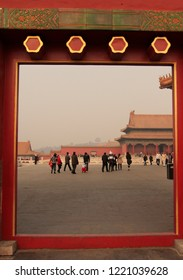 Gate at the forbidden city