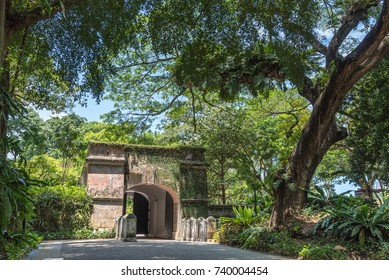 The Gate of Fort Canning