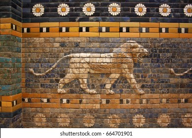 The gate of the goddess Ishtar