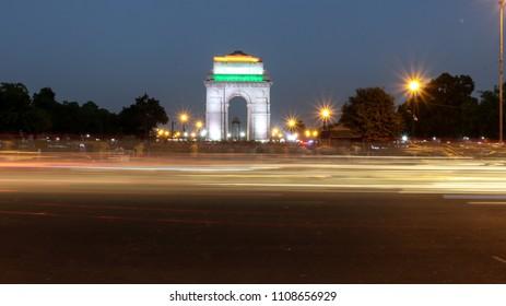 Gate of India in New Delhi
