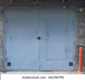 Gate, metal, garage