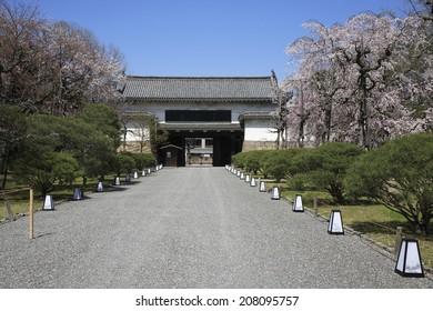 The Gate Of Nijo Castle