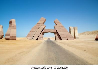 Gate of Ras Mohamed National Park
