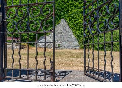 Gate in Salcombe UK