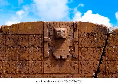 Gate of the Sun - Tiwanaku - Bolivia