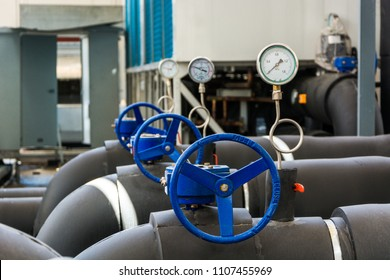 Gate valve in the gas industrial