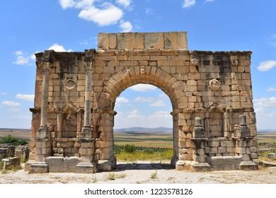 Gate in Volubilis