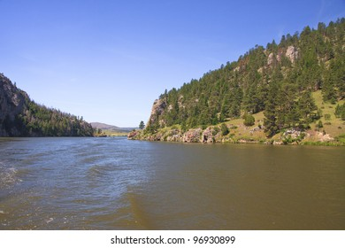 Gates of the Mountains at Upper Holter Lake in Montana