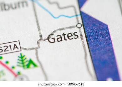 Gates. Nebraska. USA