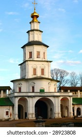 the gates in New Jerusalem monastery, Russia
