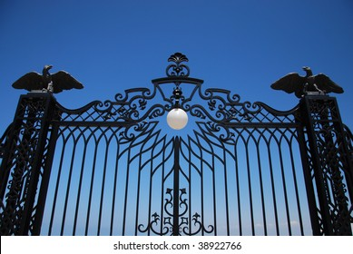 gates to the old royal garden