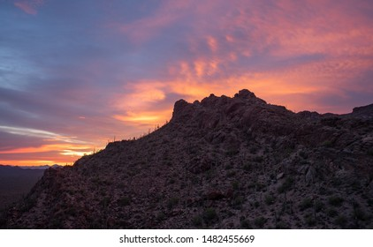 Gates Pass Sunset And Twilight