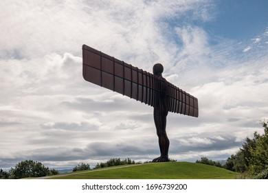 Gateshead, Tyne and Wear, England. Angel of the North. 18.08.2016